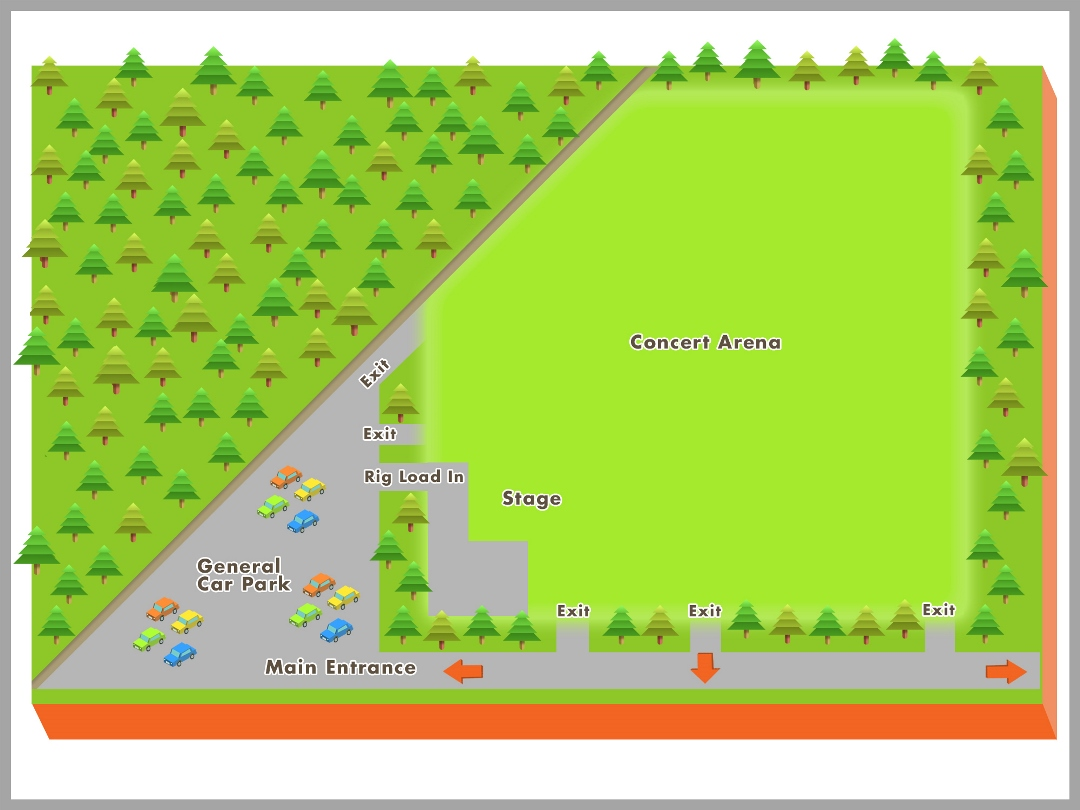 Arena Map Web Site