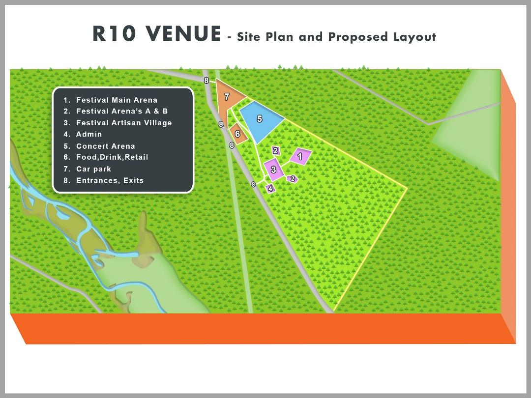 Festival Site Plan A Web site
